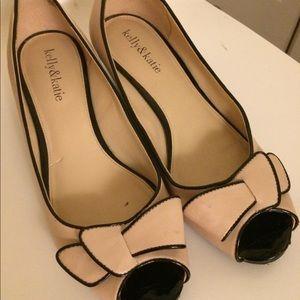 Kelly & Katie wedge heels: size 8